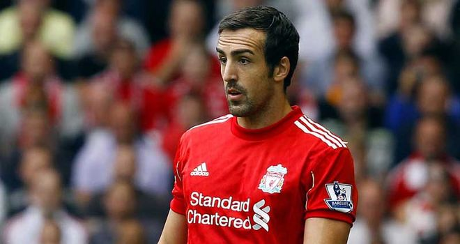 Jose Enrique: Played his part as Brighton were thrashed at Anfield