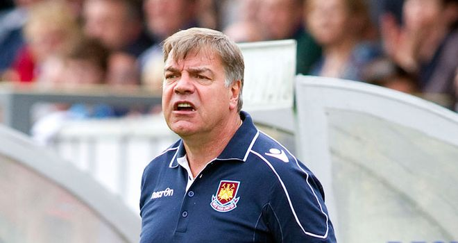 Allardyce: Registered his first away win as West Ham boss