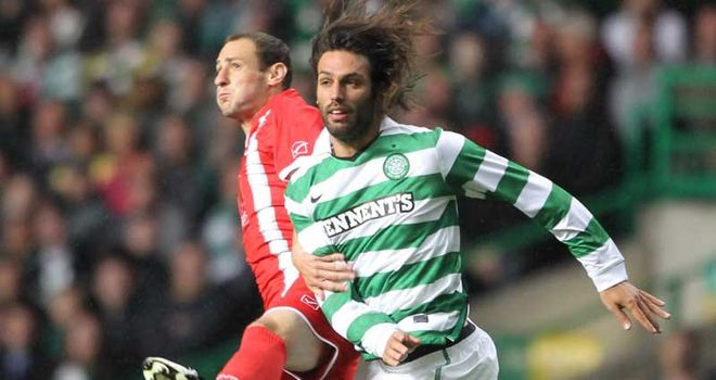 Samaras: The Greece international was jeered by Celtic fans