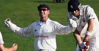 Mark Wallace: made a valuable half-century to help Glamorgan get home