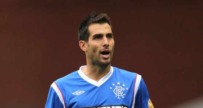 Bocanegra: Experienced his first Old Firm derby on Sunday
