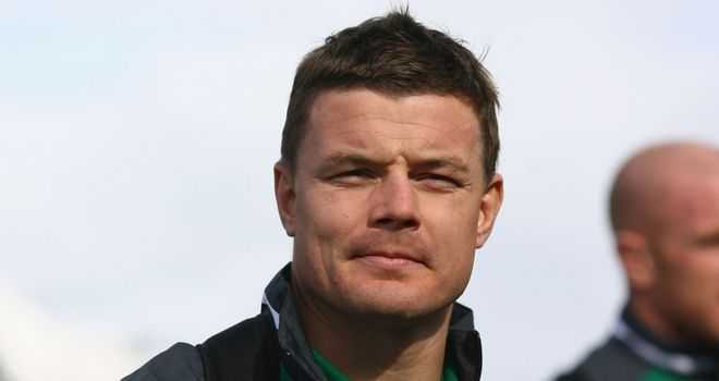 O'Driscoll: comes up against a familiar face in Ireland's opening fixture at the World Cup