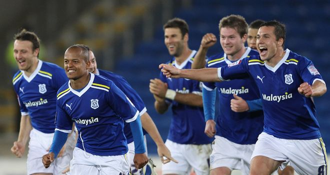 Cardiff: Celebrate shoot-out success