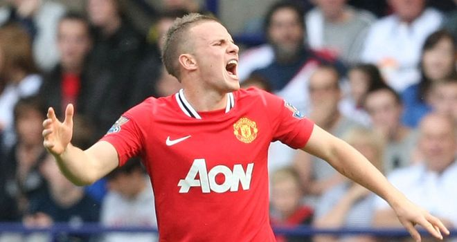 Cleverley: The midfielder could return against Liverpool after being ruled out for four weeks
