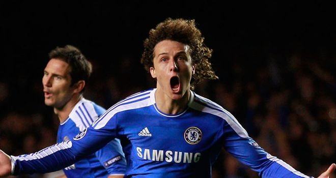 David Luiz: The Chelsea centre-half is happy to criticise his own team-mates on the pitch