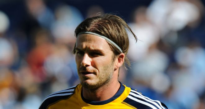 Beckham: Has been linked with a QPR move when Galaxy contract expires