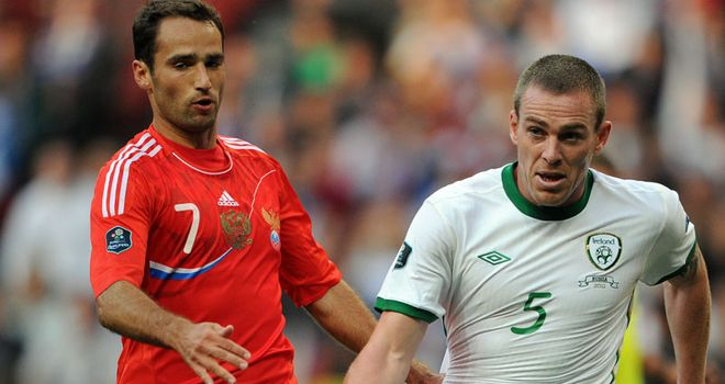 Russia and Republic of Ireland drew 0-0 in Moscow