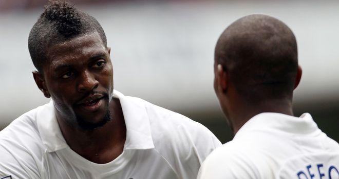 The return of Emmanuel Adebayor is not worrying Jermain Defoe