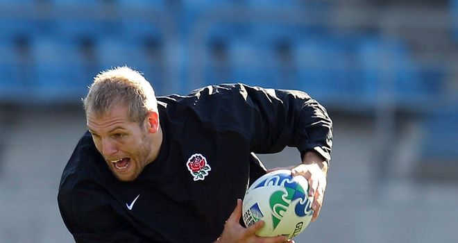 James Haskell: One of three players falsely accused of harassing a chambermaid