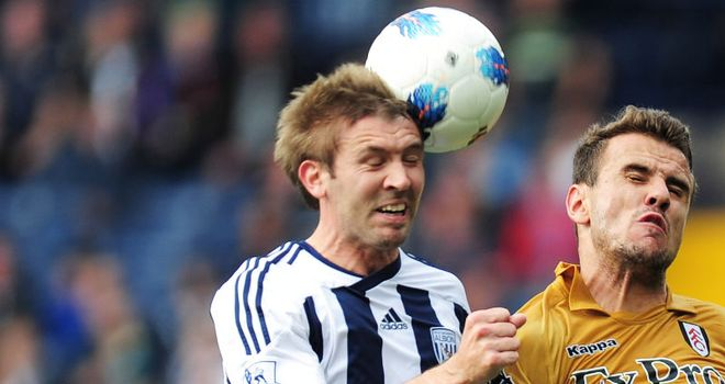 McAuley: Happy to make his Premier League debut in West Brom's 0-0 draw with Fulham