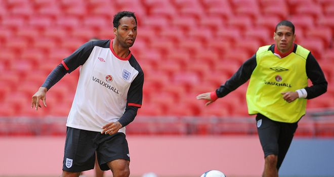 Joleon Lescott: Keen to earn a place in England squad and has also backed Rio Ferdinand