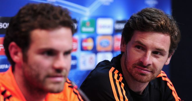 Juan Mata: Believes old boss Andre Villas-Boas could coach anywhere