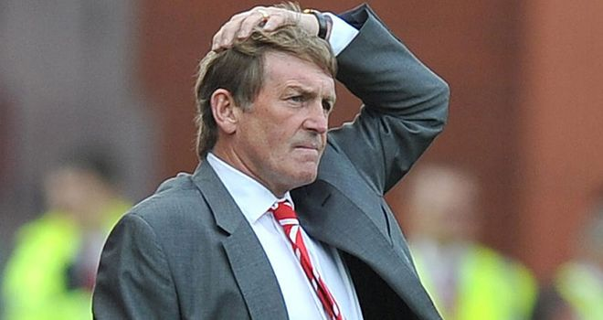 Dalglish: Demanding improvement from Liverpool players as he waits on Gerrard's return
