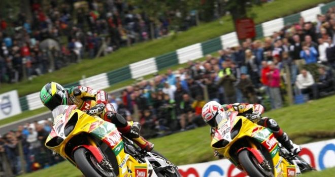 Their weekend: Michael Laverty leads Tommy Hill over the Mountain