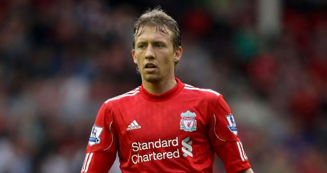 Lucas Leiva: Says he is recovering well from first serious injury of career