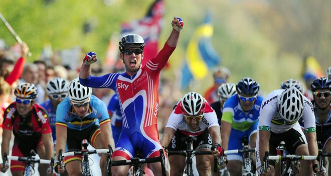 Mark Cavendish: Looking to replicate his world title for Great Britain at the Olympics