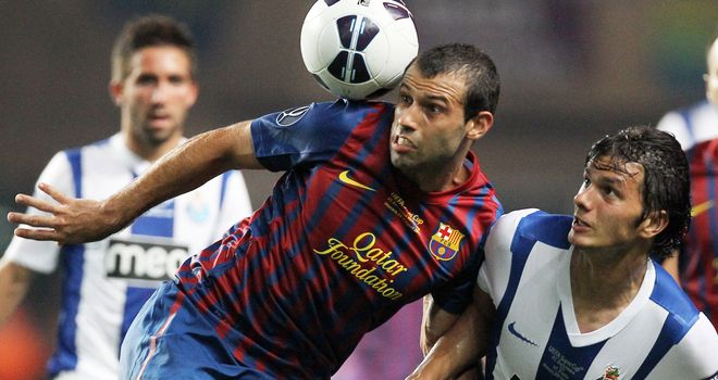 Javier Mascherano: Has revealed he is close to agreeing a contract extension with Barcelona