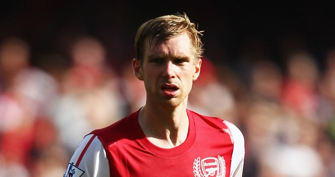 Mertesacker: Was at the heart of the defence as Arsenal kept a clean sheet on Saturday