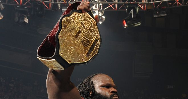 Mark Henry World Heavyweight Champion