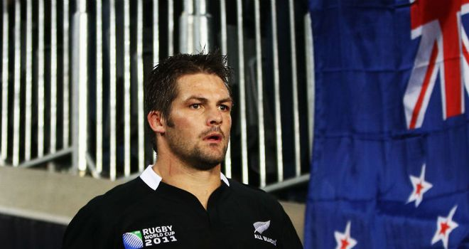 Can anyone stop Richie McCaw lifting the Webb Ellis trophy?