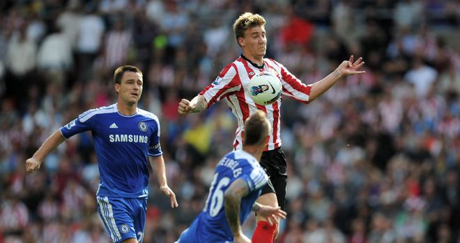 Bendtner: The striker needs to help Sunderland climb the Premier League table