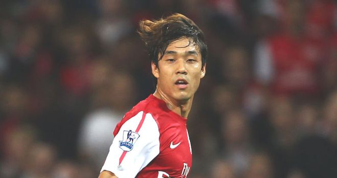Park: Made his debut for Arsenal in last week's Carling Cup clash with Shrewsbury Town