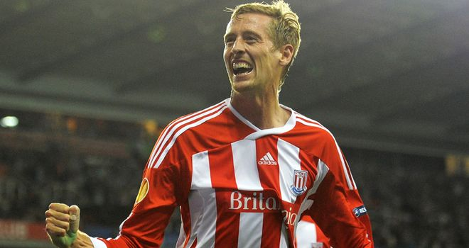 Crouch: Impressed Pulis since arriving at the Britannia Stadium