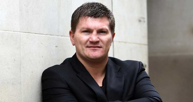 Ricky Hatton: Now a respected trainer, manager and promoter