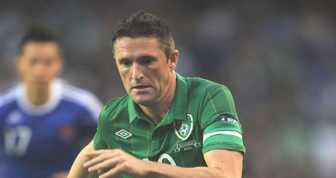 Robbie Keane: Missing for the crucial qualifier against Armenia through injury