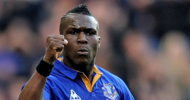 Royston Drenthe: At Everton on a season-long loan deal from Real Madrid