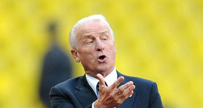 Giovanni Trapattoni: Happy with the options at Republic of Ireland's disposal ahead of the Euro 2012 play-offs