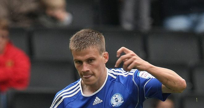 Ryan Bennett: Has caught the eye with a number of impressive displays this term