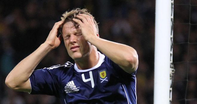 Christophe Berra: The defender has attempted to switch the focus away from Scotland