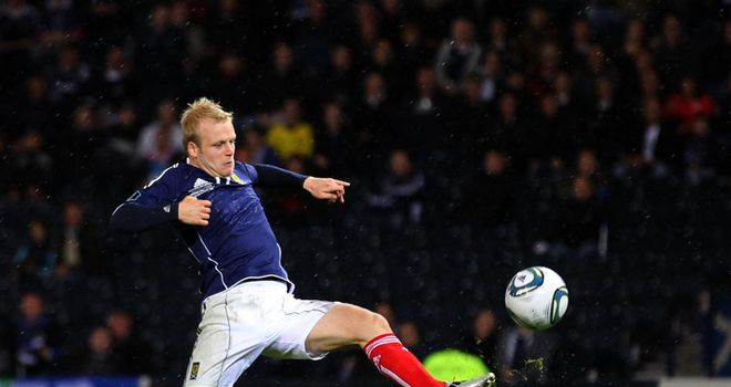 Steven Naismith: Has been in impressive form for club and country this season but will miss the rest of the season