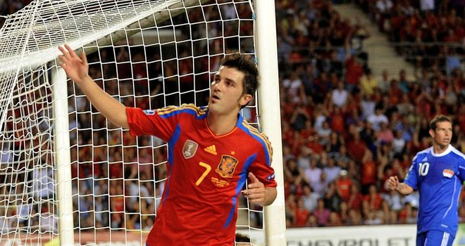 David Villa: Spain striker has confirmed he will not be fit to play at Euro 2012