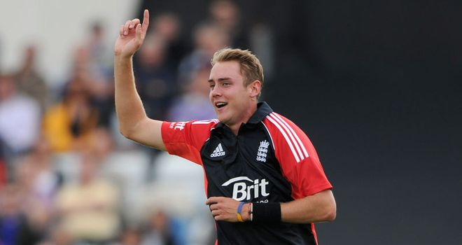 Broad: England's T20 captain