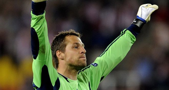 Thomas Sorensen: Stoke goalkeeper concedes he is not going to start against Newcastle at the weekend