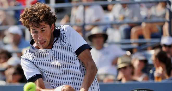 Robin Haase: Dutchman was the major casualty on day two of Hassan II Grand Prix