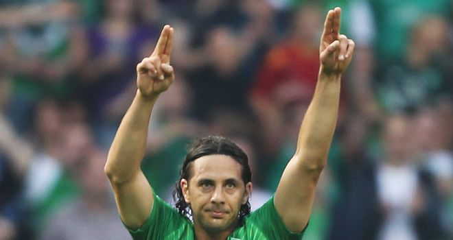 Claudio Pizarro: The striker becomes Bayern's fourth new signing this summer