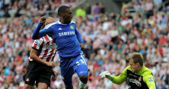 Sturrridge: Scores Chelsea's second goal with backheel