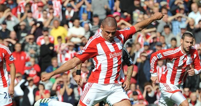 Walters: Says Stoke's spirit is first class after his penalty secured victory over Liverpool