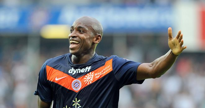Souleymane Camara: Scored to earn champions Montpellier a point against St Etienne