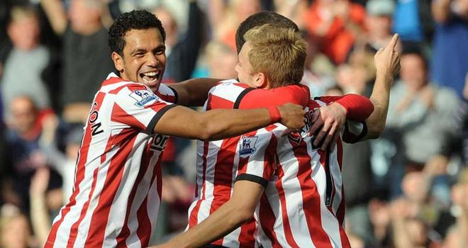 Kieran Richardson: Full-back says Darren Bent's goals are not missed on Wearside
