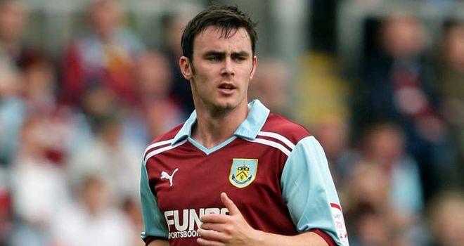 Keith Treacy: Set to join Sheffield Wednesday on loan from Burnley