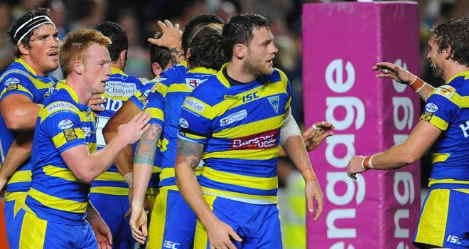 Warrington: Top of the League