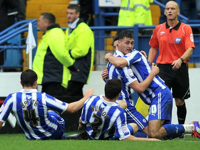 Madine: Scored equaliser for Owls