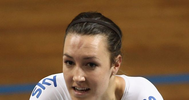 Dani King: Will be the reserve rider in women's team pursuit this week