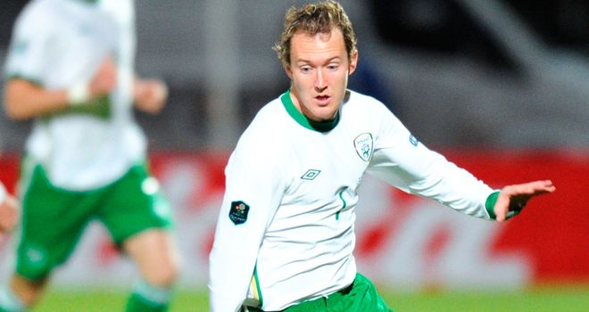 Aiden McGeady: Determined to help the Republic of Ireland reach Euro 2012 play-offs