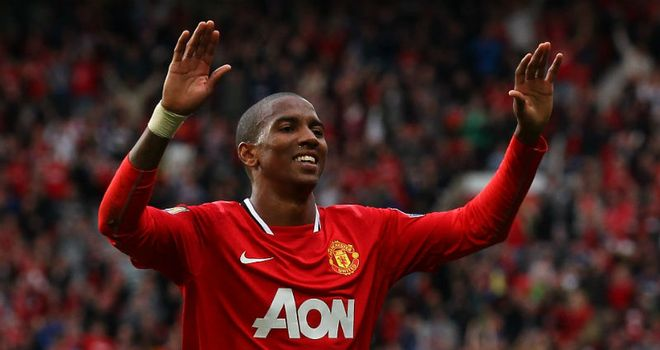Ashley Young: The winger is expected to receive a warm welcome at Villa Park on Saturday