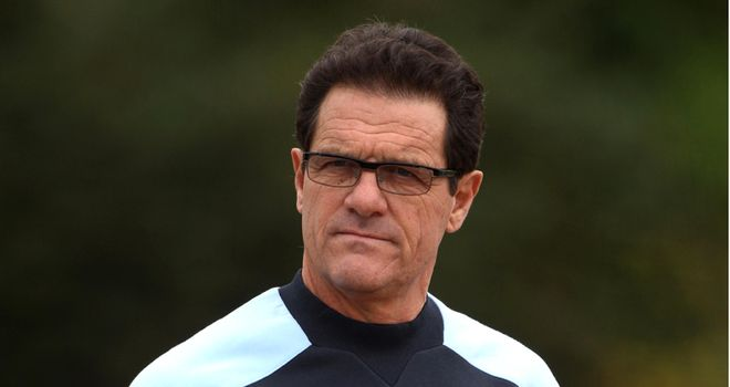 Capello: The Italian is set to leave England job after Euro 2012